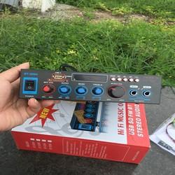 Ampli Mini Karaoke amply mini Bluetooth nghe nhạc,bẫy chim đêm Cao Cấp BT-309A Tặng Kèm 1 dây nguồn 12v và 1 Aó Thẻ Nhớ