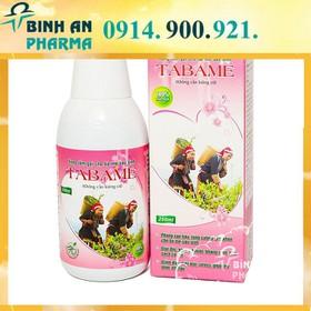 Nước Xông Tắm Sau Sinh cho mẹ Tabame 250ml nước tắm nước tắm thảo dược amibebe - tabame
