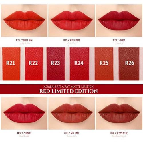Son lì agapan lipstick red limited hàn quốc #r23 lovesick: đỏ cổ điển - 12306339 , 20046106 , 15_20046106 , 149000 , Son-li-agapan-lipstick-red-limited-han-quoc-r23-lovesick-do-co-dien-15_20046106 , sendo.vn , Son lì agapan lipstick red limited hàn quốc #r23 lovesick: đỏ cổ điển