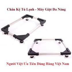 Chân đế kê tủ lạnh - Máy giặt đa năng - Hàng Việt Nam