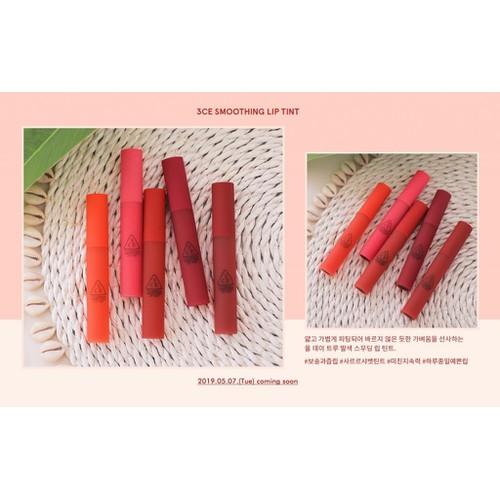 Son kem 3ce smoothing lip tint - 12311351 , 20054025 , 15_20054025 , 188000 , Son-kem-3ce-smoothing-lip-tint-15_20054025 , sendo.vn , Son kem 3ce smoothing lip tint