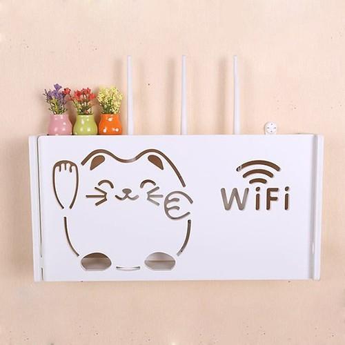 Kệ wifi treo tường mèo thần tài tada - 12306380 , 20046152 , 15_20046152 , 288000 , Ke-wifi-treo-tuong-meo-than-tai-tada-15_20046152 , sendo.vn , Kệ wifi treo tường mèo thần tài tada