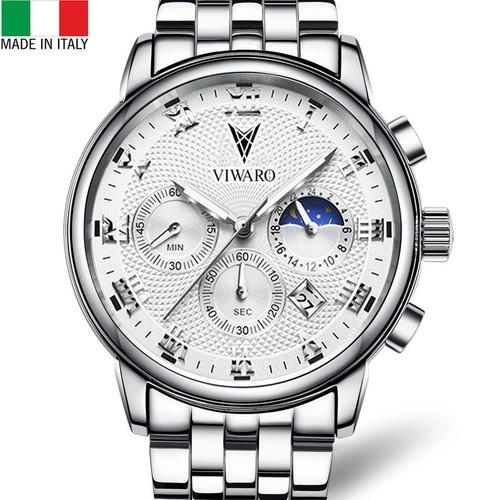 Đồng hồ nam viwaro chạy full kim cao cấp - hàng chính hãng