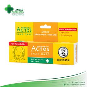 Acnes Scar care gel - Ngừa và trị thâm mụn hiệu quả - TH2249