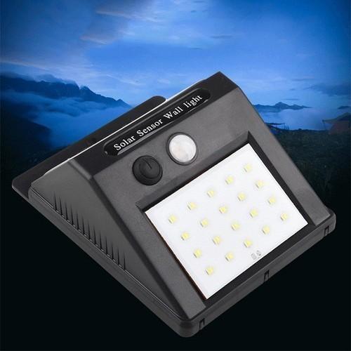 Đèn năng lượng solar powered Led wall Light chống trộm