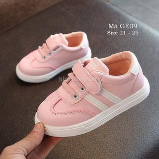 Giày bé gái màu hồng - giày thể thao bé gái 1 - 3 tuổi GE09 mềm nhẹ - GE09 thumbnail
