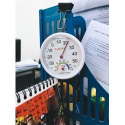 ĐẠI LÝ - Nhiệt ẩm kế cơ học đo độ ẩm nhiệt độ trong phòng ANYMETRE TH108 SIÊU NHẠY