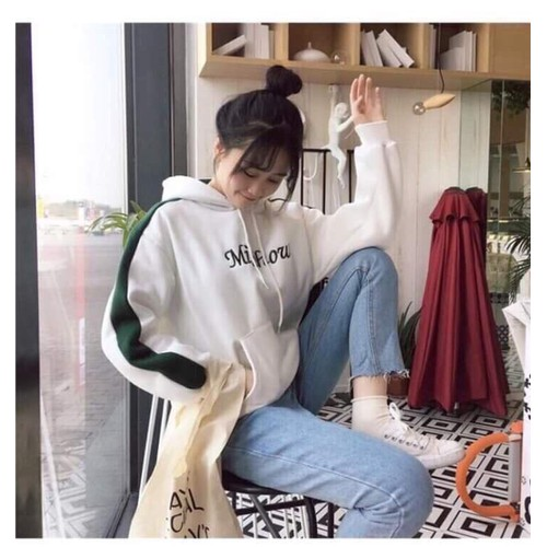 Áo khoác vải dù phong cách teen