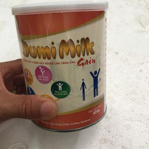 Sữa dumi milk _sữa bột dumi milk gain- dành cho người gầy, người cần tăng cân 400g - tl92 - 12265733 , 20029743 , 15_20029743 , 530000 , Sua-dumi-milk-_sua-bot-dumi-milk-gain-danh-cho-nguoi-gay-nguoi-can-tang-can-400g-tl92-15_20029743 , sendo.vn , Sữa dumi milk _sữa bột dumi milk gain- dành cho người gầy, người cần tăng cân 400g - tl92