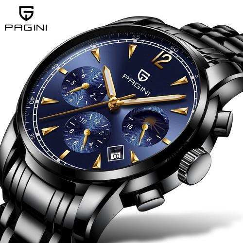 [Doanh nhân] đồng hồ nam pagini pa8310 business - chạy full kim cao cấp