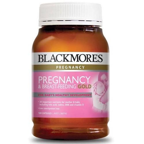 Vitamin tổng hợp cho bà bầu blackmores pregnancy gold úc
