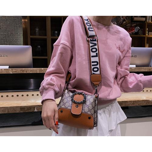 Túi xách nữ thời trang trẻ dây đeo vải bản to