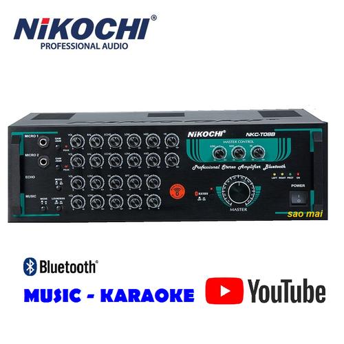 [Mừng xuân 2020] amply bluetooth ampli karaoke gia đình nikochi t08b - phân phối chính hãng amplifier - 20207836 , 20057081 , 15_20057081 , 5810000 , Mung-xuan-2020-amply-bluetooth-ampli-karaoke-gia-dinh-nikochi-t08b-phan-phoi-chinh-hang-amplifier-15_20057081 , sendo.vn , [Mừng xuân 2020] amply bluetooth ampli karaoke gia đình nikochi t08b - phân phối