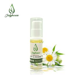 Serum chấm mụn chiết xuất tinh dầu Cúc La Mã Julyhouse 5ml - serumcuclama5ml