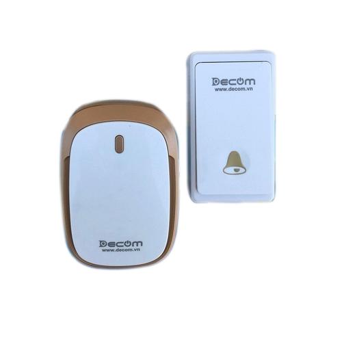 Chuông cửa không dây decom không dùng pin dc-1108d