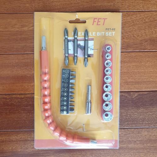 Bộ dụng cụ vặn ốc vít đa năng fet cho máy khoan pin - 12313153 , 20056584 , 15_20056584 , 119000 , Bo-dung-cu-van-oc-vit-da-nang-fet-cho-may-khoan-pin-15_20056584 , sendo.vn , Bộ dụng cụ vặn ốc vít đa năng fet cho máy khoan pin