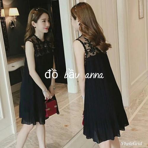 Váy ren bầu dáng suông thời trang