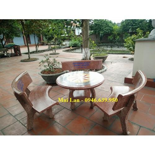 Bàn ghế đá sân vườn - 17348420 , 20029903 , 15_20029903 , 3000000 , Ban-ghe-da-san-vuon-15_20029903 , sendo.vn , Bàn ghế đá sân vườn
