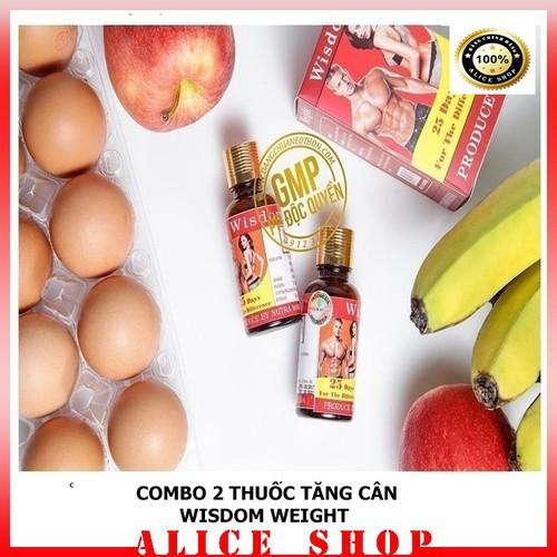 [Combo 2 hộp] vitamin tăng cân  wisdom weight  - tăng cân chính hãng từ indonesia