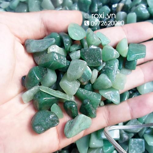 Thạch anh vụn xanh tự nhiên 500g