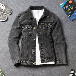 Áo khoác jean nam đơn giản DD359 shop ĐỊCH ĐỊCH | Áo khoác nam