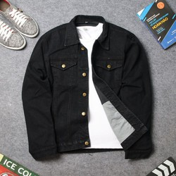 Áo khoác jean nam đơn giản DD419 shop ĐỊCH ĐỊCH | Áo khoác nam