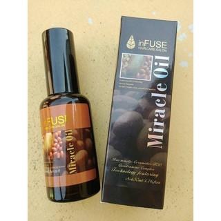 Tinh dầu cafe dưỡng tóc suôn mượt Miracle Oil - BHB066 thumbnail