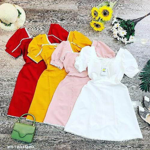 Váy kiểu tay bồng viền ren hàng quảng châu - 12008230 , 19611710 , 15_19611710 , 220000 , Vay-kieu-tay-bong-vien-ren-hang-quang-chau-15_19611710 , sendo.vn , Váy kiểu tay bồng viền ren hàng quảng châu