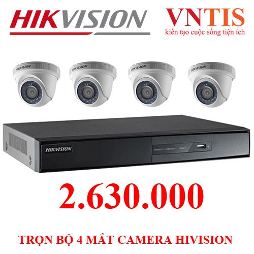 Trọn bộ camera hikvision 4 mắt hik , đầu ghi chuẩn hd hikvison , nguồn , jack bnc - 12006572 , 19609053 , 15_19609053 , 2630000 , Tron-bo-camera-hikvision-4-mat-hik-dau-ghi-chuan-hd-hikvison-nguon-jack-bnc-15_19609053 , sendo.vn , Trọn bộ camera hikvision 4 mắt hik , đầu ghi chuẩn hd hikvison , nguồn , jack bnc
