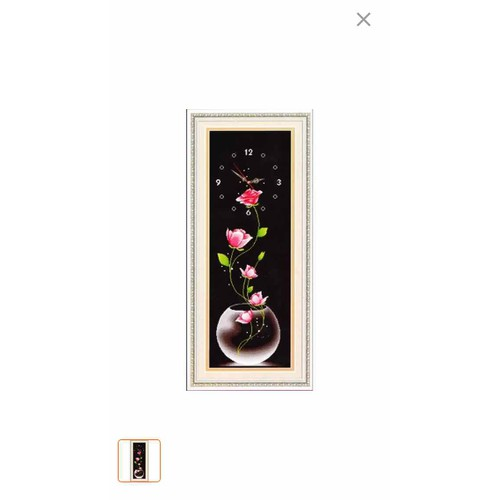 Tranh thêu chữ thập đồng hồ bình hoa - 11999583 , 19598269 , 15_19598269 , 170000 , Tranh-theu-chu-thap-dong-ho-binh-hoa-15_19598269 , sendo.vn , Tranh thêu chữ thập đồng hồ bình hoa