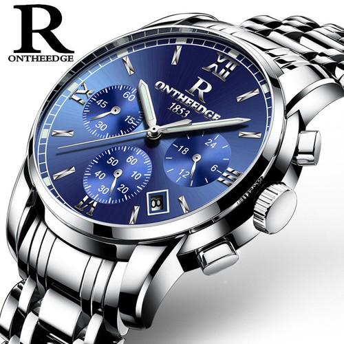 Đồng hồ nam thời trang ontheedge rzy026, thiết kế sang trọng, bảo hành 1 năm