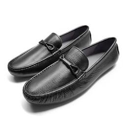 BẢO HÀNH 1 NĂM - Giày lười nam da cao cấp - đế cao  su- khâu chắc chắn - có link video sản phẩm