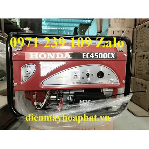 Máy phát điện honda ec4500cx đề nổ công suất 3kw dùng cho gia đình - 12002345 , 19602287 , 15_19602287 , 8500000 , May-phat-dien-honda-ec4500cx-de-no-cong-suat-3kw-dung-cho-gia-dinh-15_19602287 , sendo.vn , Máy phát điện honda ec4500cx đề nổ công suất 3kw dùng cho gia đình
