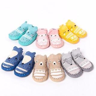 Set 2 đôi giày tất/vớ len tập đi, chống trượt cho bé có đủ size 11,12cm