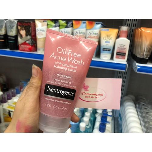 Sữa rửa mặt giảm mụn và ngăn ngừa mun neutrogena pink grapefruit 124  ml - 11999044 , 19597552 , 15_19597552 , 210000 , Sua-rua-mat-giam-mun-va-ngan-ngua-mun-neutrogena-pink-grapefruit-124-ml-15_19597552 , sendo.vn , Sữa rửa mặt giảm mụn và ngăn ngừa mun neutrogena pink grapefruit 124  ml