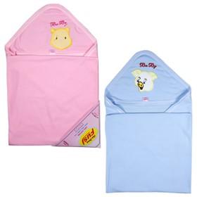 Combo 2 Chăn choàng, chăn ủ hè cotton cho bé sơ sinh HÀNG CHẤT LƯỢNG CAO KIBA Fashion - đồ cho trẻ sơ sinh - 2CCUKS