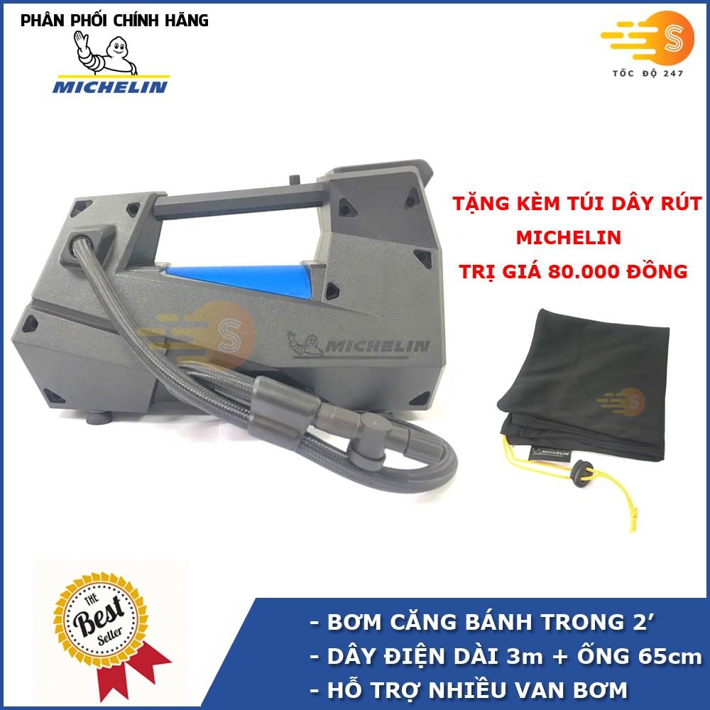 Máy bơm lốp đa năng kỹ thuật số tự ngắt 12v Michelin 12312 - 12312