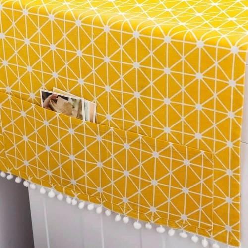 Tấm phủ bảo vệ lò vi sóng màu vàng