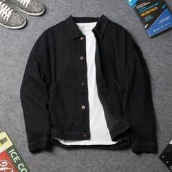 Áo khoác jean nam có nón DD259 shop ĐỊCH ĐỊCH   áo khoác unisex