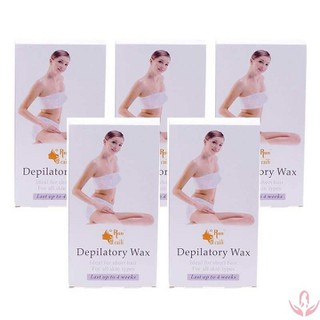 Hộp 10 miếng wax lông Depilatory - BHB076 thumbnail