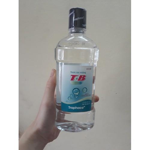 Nước súc miệng T-B Traphaco chai 500ml