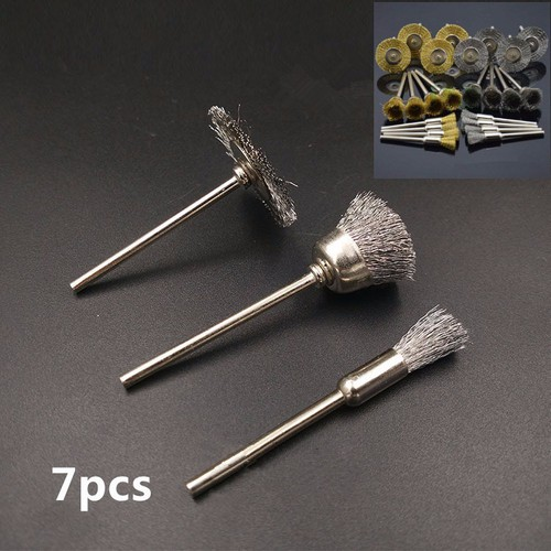 Bộ 7 bàn chải mini cán 3mm - 11346089 , 19798364 , 15_19798364 , 93000 , Bo-7-ban-chai-mini-can-3mm-15_19798364 , sendo.vn , Bộ 7 bàn chải mini cán 3mm