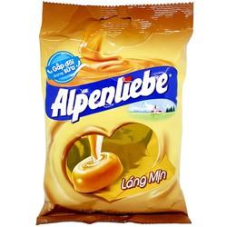 Kẹo Alpenliebe sữa caramen gói 120g - 40 viên