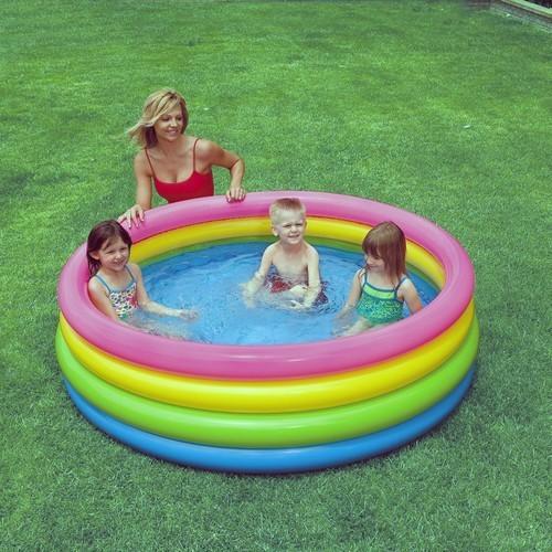 Bể bơi cầu vồng 4 tầng size 168 x 46