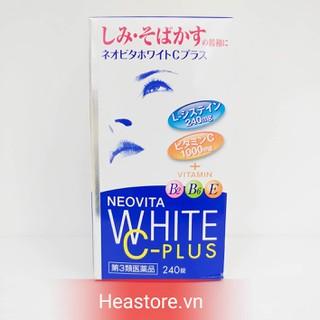 VIÊN UỐNG TRẮNG DA VITA WHITE PLUS - 240 viên - 4987343086754 thumbnail
