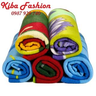Combo 5 Chăn ủ nỉ sơ sinh siêu nhẹ, cực nhanh khô , chăn nỉ sơ sinh giá rẻ - Đồ cho trẻ sơ sinh , quần áo trẻ sơ sinh