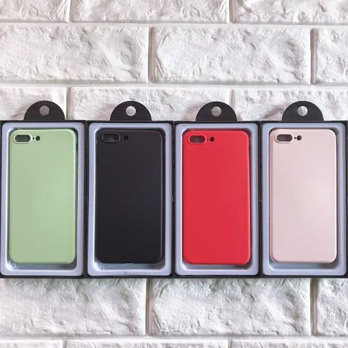 Ốp lưng iphone 7 plus hoặc iphone 8 plus chống bẩn dẻo