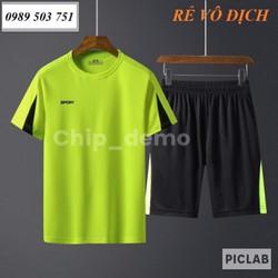 Bộ quần áo thể thao nam mẫu mới hàng cao cấp