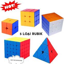 GIÁ SẬP SÀN: Rubik đẹp xoay trơn không rít độ bền cao Rubik 2x2 ,3x3, 4x4 ,5x5 - KHO SỈ