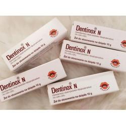 Gel Bôi Giảm Đau Răng Lợi Dentinox 15g